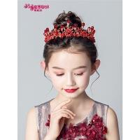 女童韩版发箍礼服走秀儿童皇冠头饰公主小女孩王冠发饰
