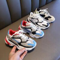 【活动价:99元】女童运动鞋2019春款新款夏季儿童网红老爹鞋单鞋男童宝宝网鞋透气