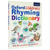 牛津儿童英语字典 牛津幼儿韵律词典 Oxford Children's Rhyming Dictionary 创意英文