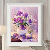 十字绣5D钻石画卧室小幅花卉砖石秀贴钻客厅点钻