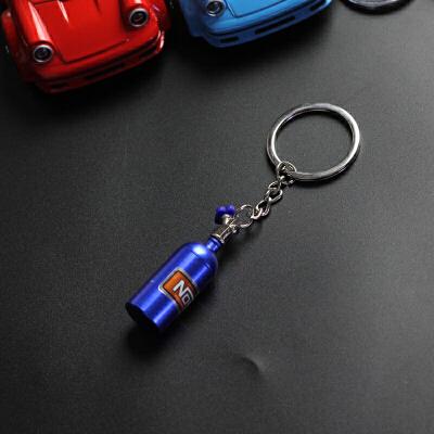 汽车个性钥匙扣 男女款腰挂创意钥匙链圈金属挂件 潮款*礼品
