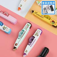 5个装日本plus普乐士可换替芯635限定版修正带替换芯6m改正带可爱少女小学生用学习文具涂改带日本进口修改带