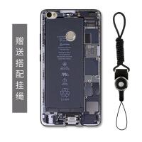 创意小米max2手机壳个性莱卡相机录音带mix保护套防摔全包男款max