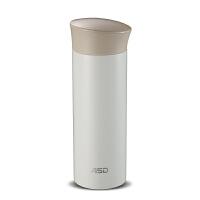 爱仕达水杯 320ml真空保温杯大容量 304不锈钢喝茶直身杯RWS32B-YN 白