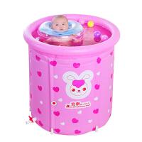 婴儿游泳池家用新生儿童宝宝室内大号支架折叠充气保温洗澡桶
