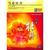 学习中国画-写意牡丹(3碟装)DVD( 货号:788306491)