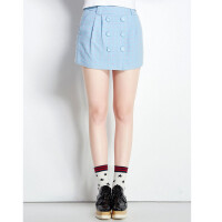 [11-203]新款羊毛OL半身裙中裙一步裙0.30
