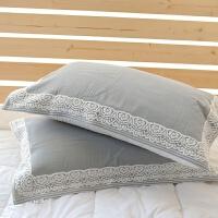 纯棉枕巾全棉纱布古典浮雕枕巾欧式透气纯侣枕巾纯棉毛圈枕巾