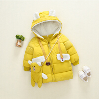 宝宝棉衣女0-1岁冬儿童冬装婴儿外套2秋冬3小童女童冬季棉袄