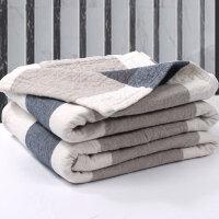 ???毛巾被毯纯棉加厚纱布水洗棉单人双人床单可铺可盖