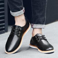 皮鞋男士秋季男鞋商务休闲皮鞋正装鞋子男青年潮鞋韩版学生小皮鞋