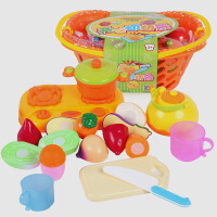 儿童蔬菜水果切切看切切乐 过家家玩具宝宝厨房玩具套装