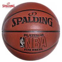 斯伯丁篮球铂金系列NBA74-605室内外兼用PU材质