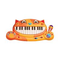 美国大嘴猫琴儿童电子琴玩具宝宝音乐玩具钢琴玩具 图片色