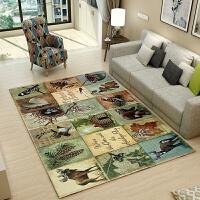 欧式客厅地毯沙发茶几垫卧室床边门厅满铺长方形简约现代美式定制