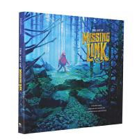 英文原版 遗失的环节 电影艺术设定集 精装画册 The Art of Missing Link 场景 人物设定 花絮 L