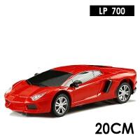 学智善方向盘遥控车电动玩具车遥控汽车漂移赛车男孩玩具 兰700 红色 1:24