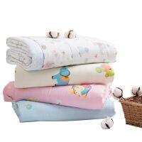 儿童宝宝幼儿园夏凉被卡通空调被午睡棉质可水洗1.2m夏季2019新款