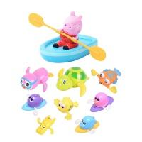 �和�洗澡玩具����玩水��核�上�蛩�小�i佩奇��船��游泳小�觚� 抖音