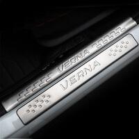 瑞纳门槛条 不锈钢内置门槛条 现代瑞纳改装专用 瑞纳迎宾踏板