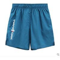 格子短裤宽松健身裤男士运动短裤速干透气阔脚口轻质跑步马拉松