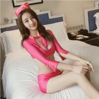 情趣内衣诱惑空姐制服性感套装女红色情趣衣服紧身sm骚包臀裙激情