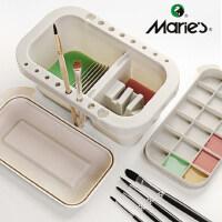 马利牌多功能洗笔桶水桶美术涮笔筒颜料水粉绘画水彩画画专用油画