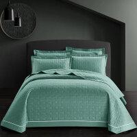 纯棉夹棉床盖三件套全棉冬季加厚床单床上用品1.8米 床盖 245*250cm 枕套48*74一对 适用