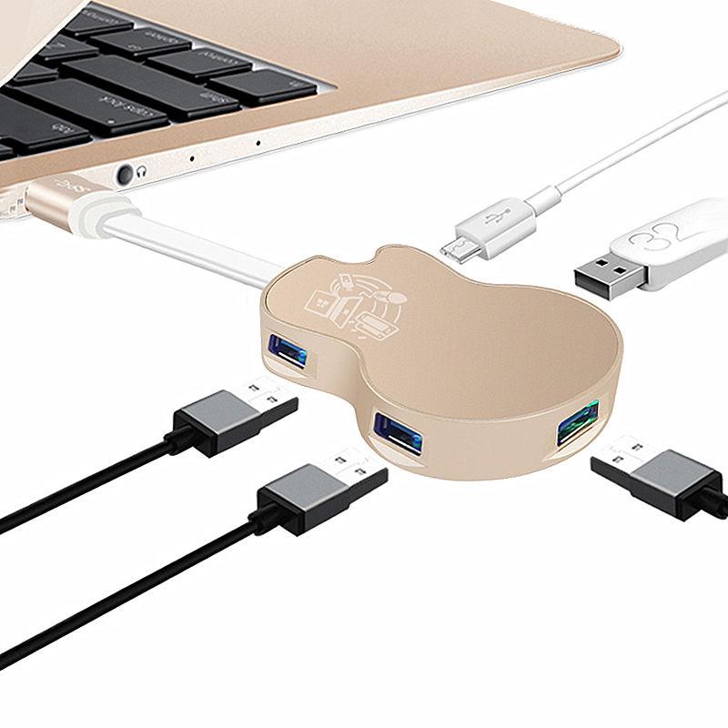 USB扩展坞Surface Pro4/5/6转换器微软Pro平板电脑HUB集线器笔记本