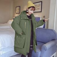 冬季外套女韩版羽绒棉衣服中长款ins大码棉袄子