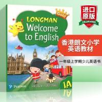 香港朗文培生少儿英语教材教科书 一年级上学期学生用书 英文原版 Longman Welcome to English