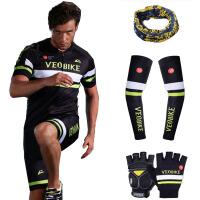 夏季山地自行车骑行服装 竞赛级男 骑行服短袖套装