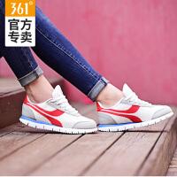 361女鞋运动鞋新款2018网面透气跑步鞋夏季阿甘鞋361度休闲鞋正品