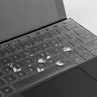 微软Surface Go键盘保护膜Surface Pro 6/5/4/Lap2/Book2键 【13.5英寸】Surf