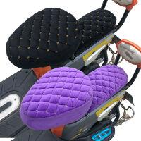 加绒加厚秋冬季电动自行车座套电动车坐垫套座子套软舒适保暖通用