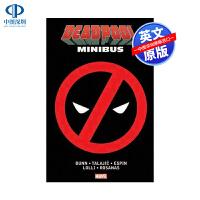 新版 英文原版 死侍番外漫画合集1 精装收藏版Deadpool Minibus 1 漫威 漫画 美漫 进口 正版