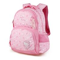 Hello Kitty凯蒂猫 KT1031A粉红 护脊儿童书包小学生书包女幼儿园背包 当当自营