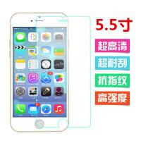 iphone6plus贴膜 苹果6手机贴膜 6前膜高清磨砂配件SN9939 原装高清贴膜【iphone6 plus】