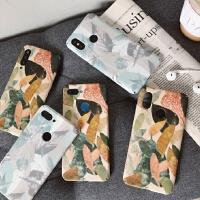 小米9手机壳8se超薄复古树叶8青春版个性9se保护套6x小米8手机壳