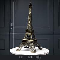 巴黎埃菲尔铁塔模型摆件创意家居电视柜酒柜工艺装饰品北欧小摆设