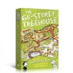 【顺丰速运】英文原版The 65-Storey Treehouse小屁孩树屋历险记 65层 小学生英语课外阅读提升 情