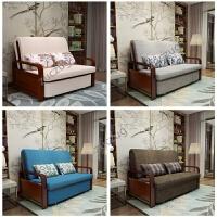 zuczug沙发床可折叠客厅小户型单人双人简约现代多功能坐卧两用床 1.5米以下