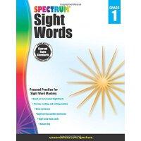 Spectrum Sight Words, Grade 1 英文原版 Spectrum 常用词,1年级