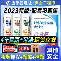 备考2021 注册安全工程师2020 教材配套辅导 其他安全专业4本套 注册安全工程师2020全套教材 习题集 中级注册