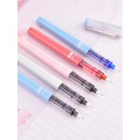 白雪直液式走珠笔 0.38/0.5mm黑中性笔水笔 办公学习用签字笔文具