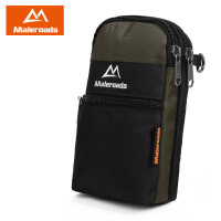 户外多功能贴身男士手机包穿皮带腰包旅行竖款挂包5.5寸双手机包