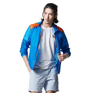 AIRTEX亚特户外登山旅行跑步运动防晒抗紫外线旅行男款皮肤风衣
