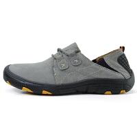 冬季保暖防滑雪地靴男士个性系带加绒加棉磨砂休闲皮鞋中青年百搭