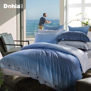 多喜爱全棉斜纹四件套纯棉高支高密床单被套澜境专柜同款