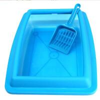 【支持礼品卡】半透明猫厕所 宠物日用品 送猫砂铲小号半透明猫砂盆 hp2